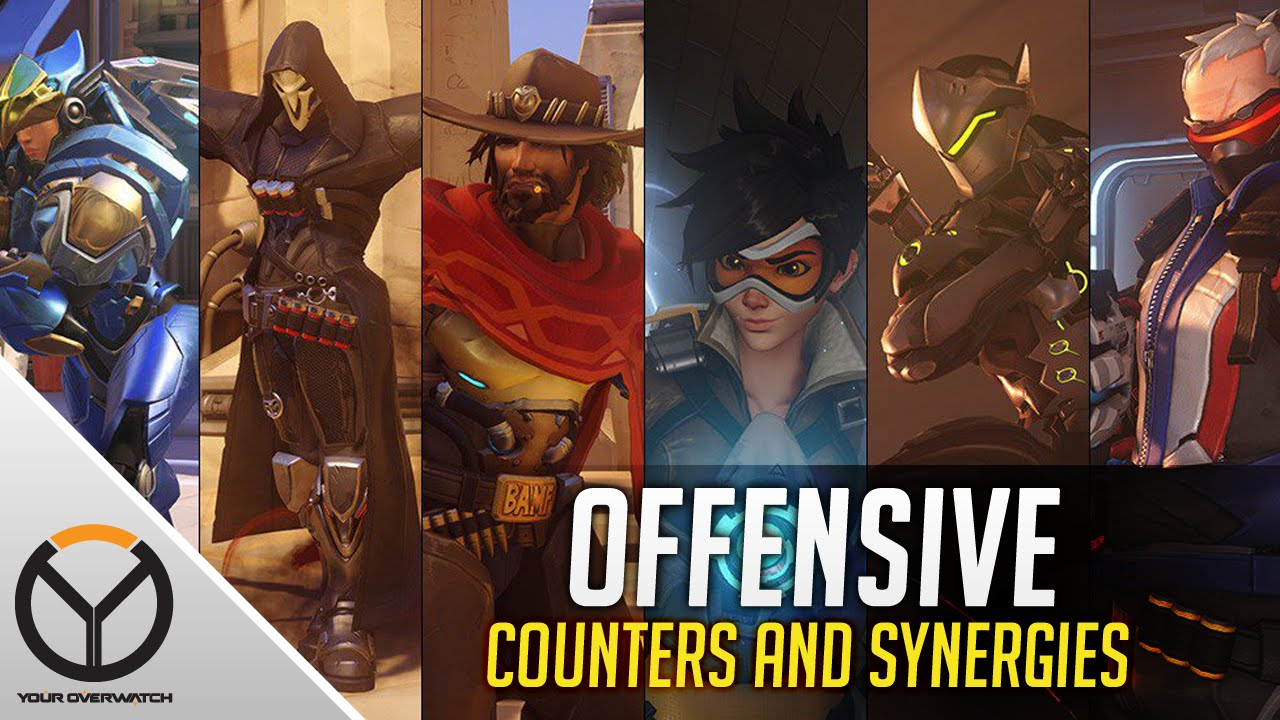 Overwatch ALL Offensive Heroes Counters Amp Synergies Guide