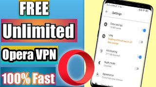 How to use Free VPN on Opera mobile App || Free VPN without any app on mobile phone || Urdu, Hindi screenshot 4