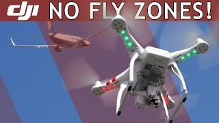 DJI Phantom   NO-FLY ZONES Feature   Video Tutorial