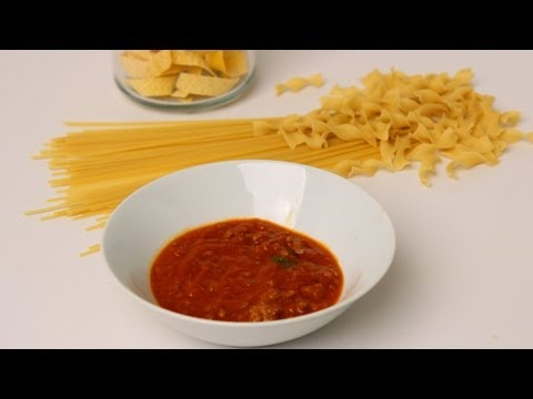 Homemade Meat Sauce Recipe - Laura Vitale - Laura in the Kitchen Episode 449