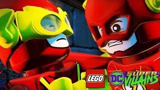 The Flash Races Johnny Quick Lego DC Super Villains