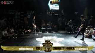 Kill v Shorty Force / Final Battle / Redbull BCone 2013  Busan Cypher / allthatbreak.com