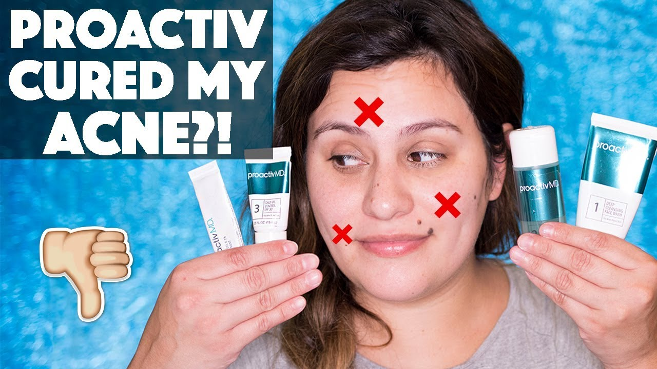 Review Proactiv Md Acne Skincare Routine Youtube