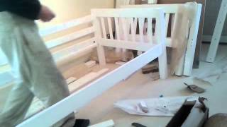 Building, Flat Pack ,bunk Beds  ,pt 3