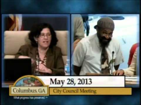 Columbus GA City Council: Lynching Controversy: May 28, 2013