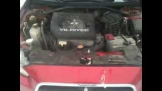 Mitsubishi Lancer X с мотором V6 от Outlander XL