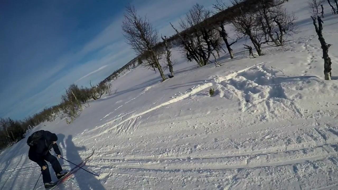 Adventure på ski - Ryslinge Efterskole 16/17
