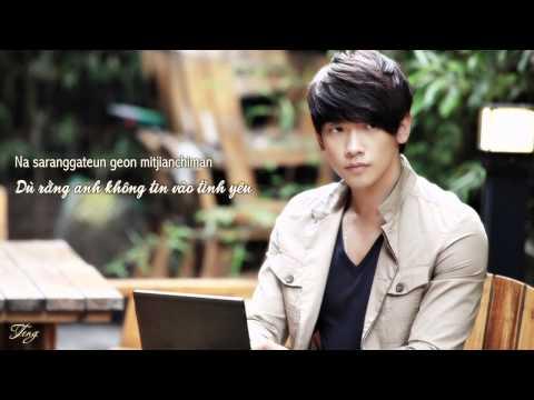 [Vietsub+Lyrics] Shin Seung Hoon - Although I don't believe in love