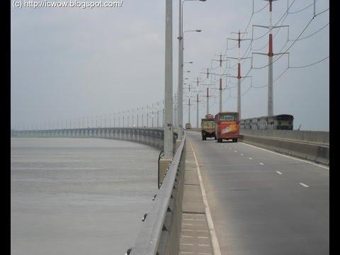 Crossing Jamuna river! Landscape view