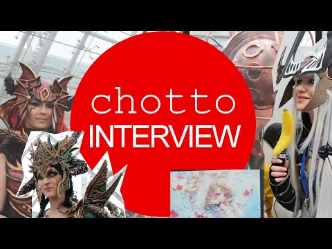 Manga Comic Convention Leipzig Samstag 2015 Cosplay Artist Interview German
