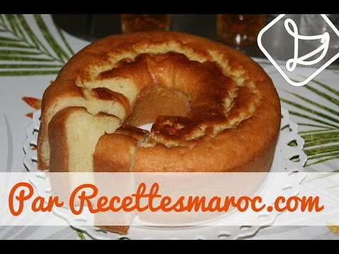 cake-moelleux-à-la-vanille---moist-vanilla-bundt-cake---كيكة-الفانيلا