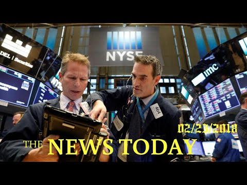 Wall Street To Open Higher As Bond Yields Retreat | News Today | 02/23/2018 | Donald Trump
