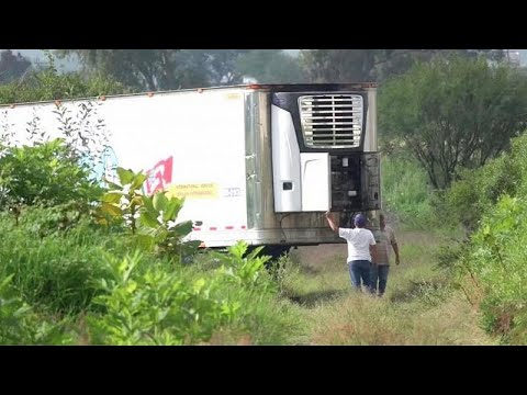 157 bodies found in truck in Mexico as morgue complains of lack of space