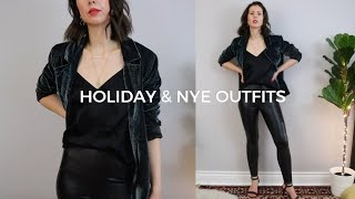 Holiday & New Years Eve Outfits + Giveaway!  Closed  | Wearable Party Outfit