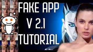 Fakeapp 2.1 التعليمي |وجه مبادلة باستخدام مل و منظمة العفو الدولية !!deepfakes التعليمي