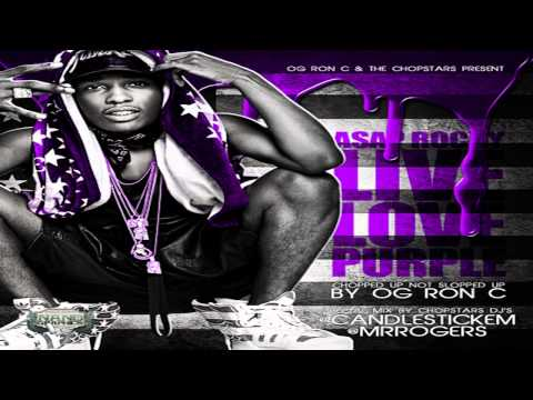 Asap Rock - Purple Swag Feat. Paul Wall, Bun B & Killa Kyleon Chopped not Slopped by OG Ron C