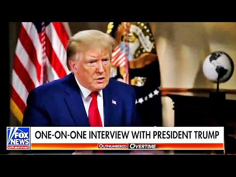 Trump Interview with Black Anchor Quickly Goes Bad