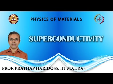 Mod-04 Lec-38 Superconductivity