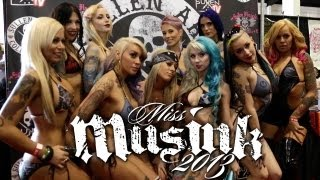 TATTOO CONVENTION COVERAGE - Miss Musink 2013