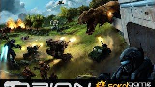 забег по игре ORION:Prelude - Небольшой отряд против орды доисторических тварей