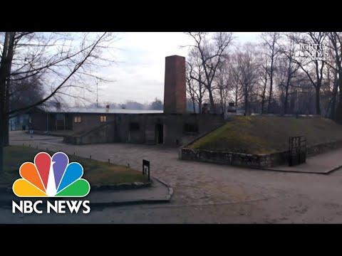 Auschwitz Survivors Return To Death Camp 75 Years Later   NBC Nightly News