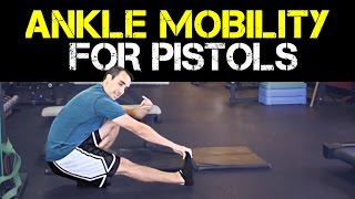 How to do pistols squats (even with crappy ankle mobility)