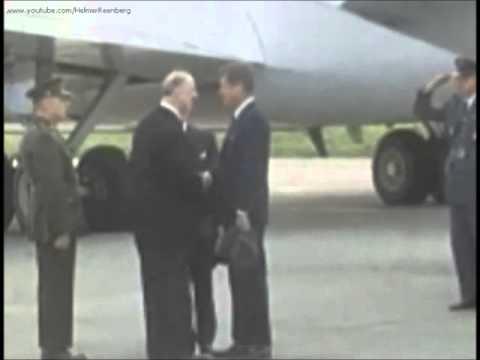 June 26, 1963 - President John F. Kennedy arriving at Dublin Airport, Ireland