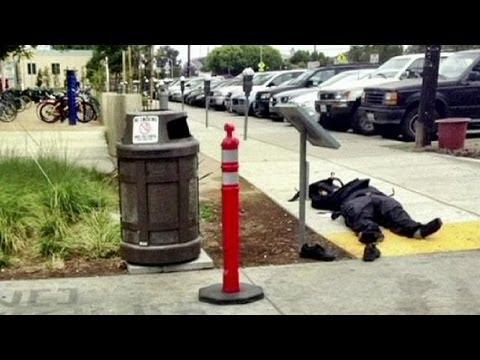 Gunman goes on the rampage in California
