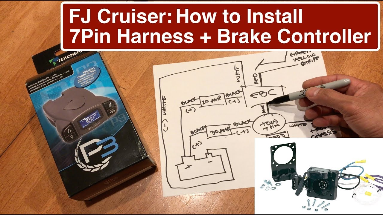 Cruiser Wiring Diagram On 4 Pin Trailer Wiring Diagram Fj Cruiser