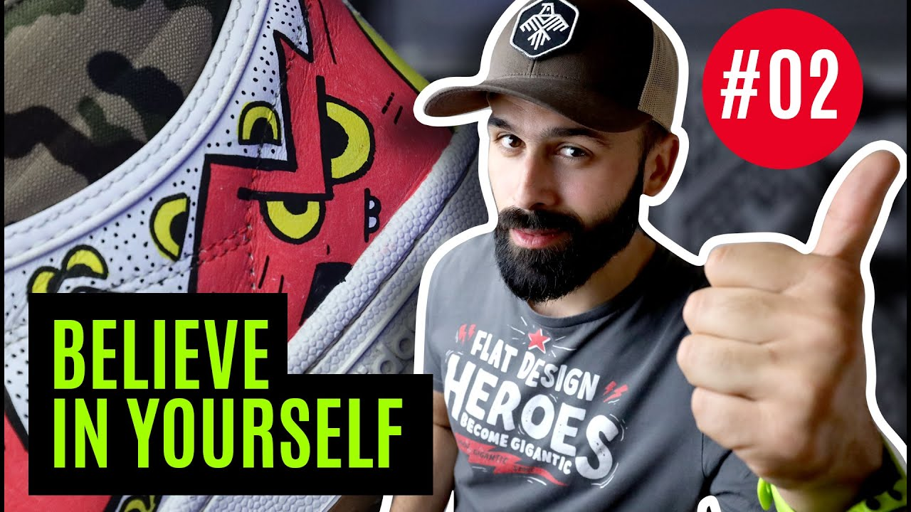 How to BELIEVE IN YOURSELF and start working as a freelancer and an artist / New Folder #002
