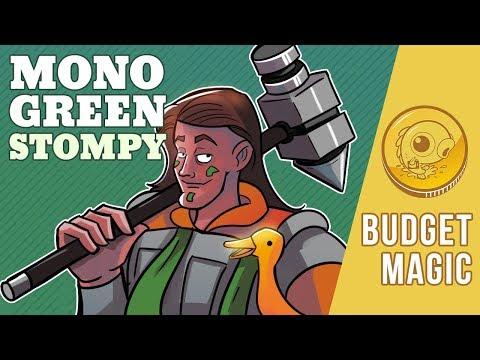Budget Magic: $102 (17 Tix) Mono-Green Stompy (Pioneer, Magic Online)