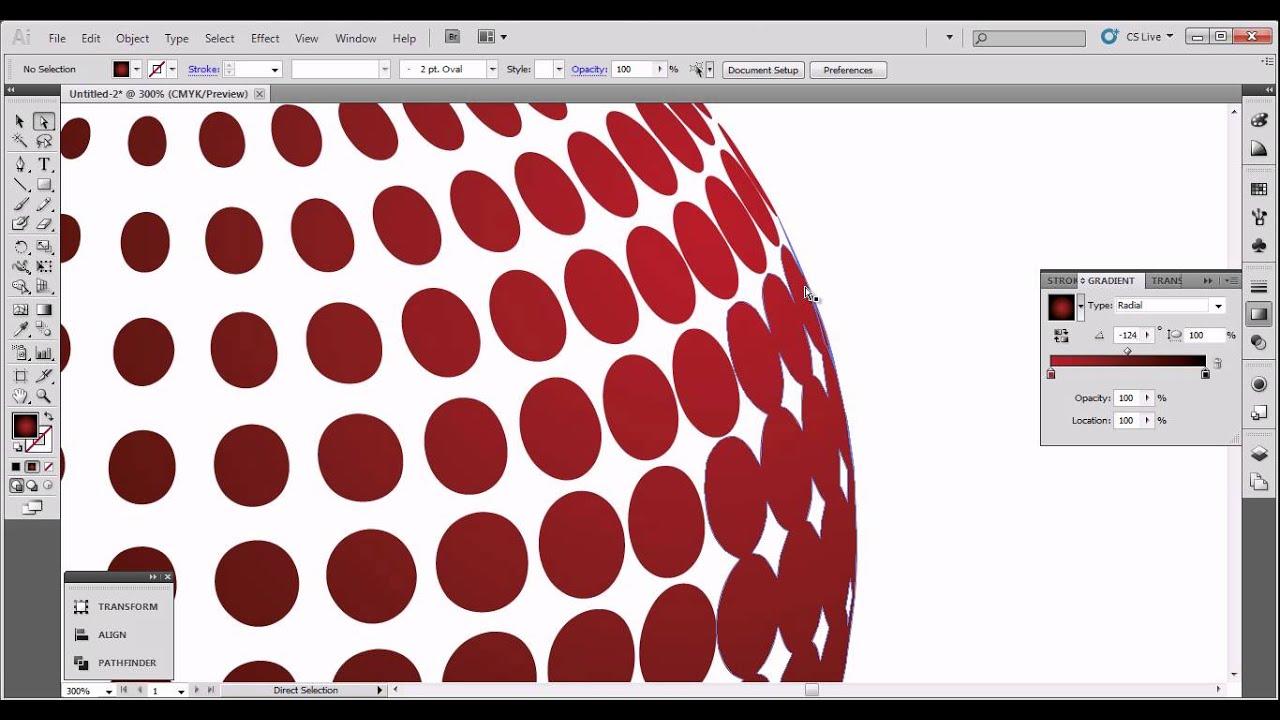 3D company logo tutorial (Illustrator CS5) - YouTube