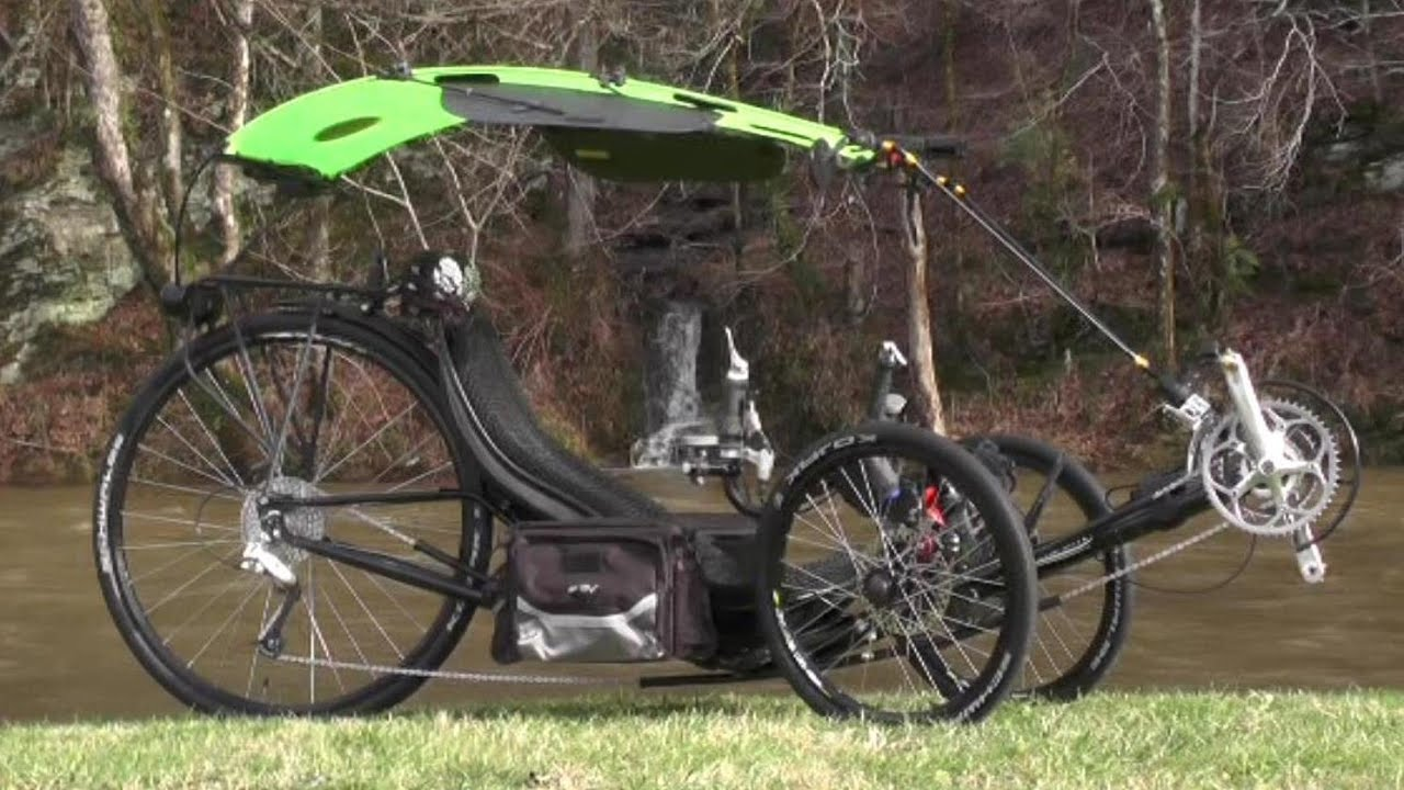 & Recumbent Trike Canopy 2015-01-05 Status Overview - YouTube