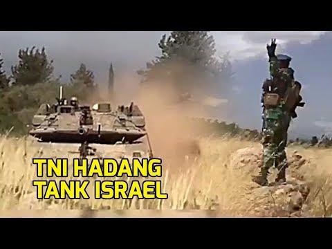VIRAL Prajurit TNI Hadang Tank Israel Di Perbatasan Lebanon