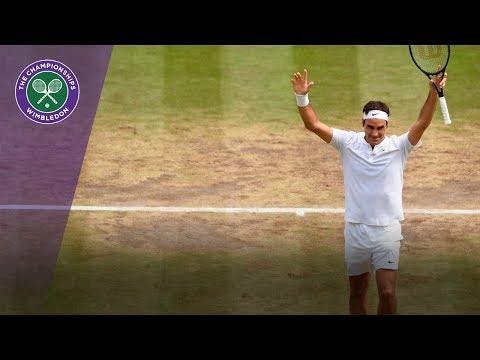 Roger Federer wins Wimbledon 2017