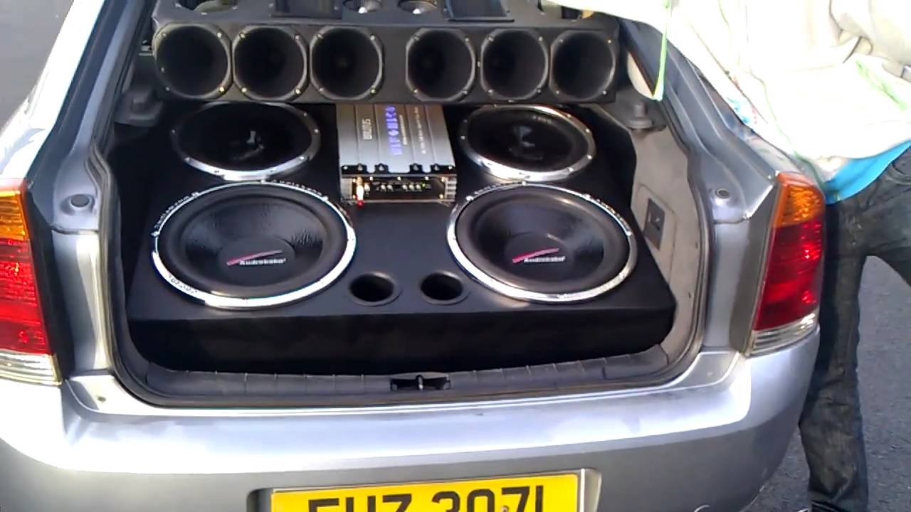 My Vectra Sound System Youtube