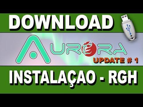 Dowload- Aurora.0.1A- Update-1-Instalaçao-RGH