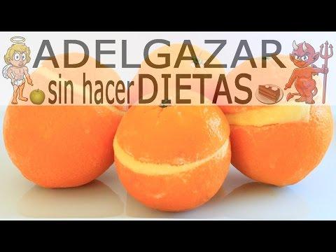 HELADO DE NARANJA CASERO # ADELGAZAR SIN HACER DIETAS