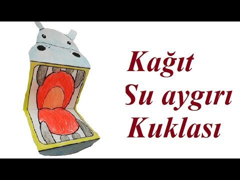 Su Aygiri Kuklasi Nasil Yapilir How To Make A Hippo Puppet Youtube