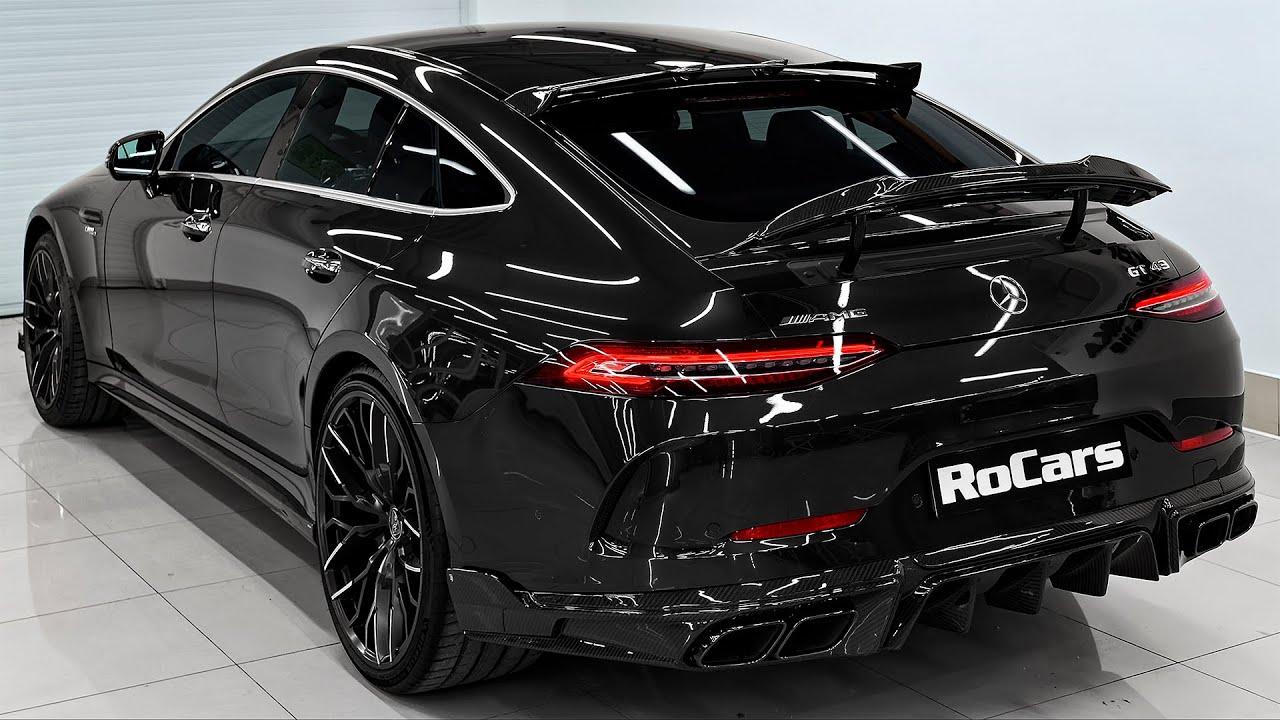 2021 Mercedes AMG GT 4 Door - Brutal GT from Larte Design!