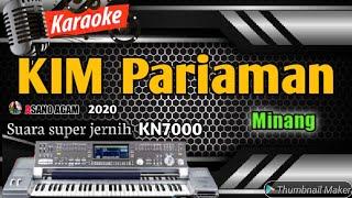 Dendang kim minang nonstop 2020    Pariaman versi karaoke KN7000