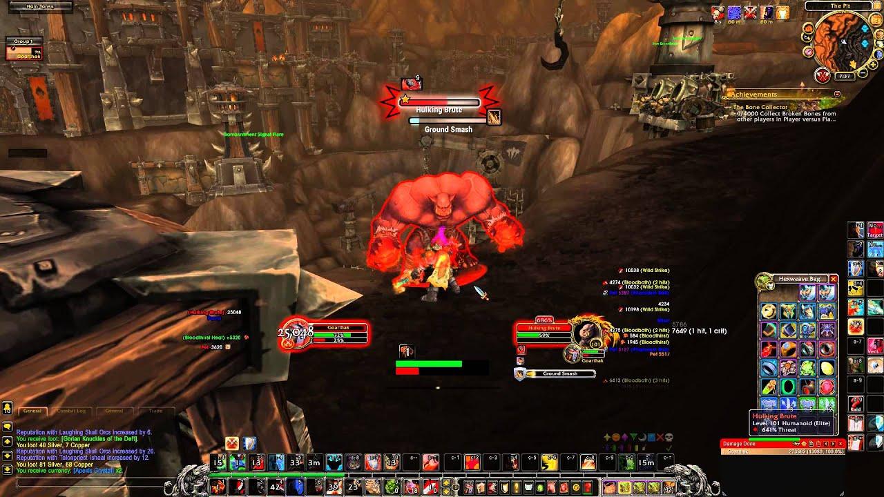 Fury Warrior Weak Auras - Exploring Mars