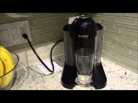 How To Clean The Nespresso Vertuoline Coffee Machine