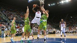 Top 5 Plays: USA vs Slovenia