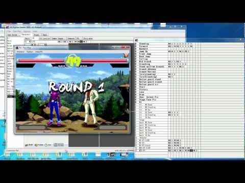 2D Fighter Maker FM2nd Character Creation Test - Yunega