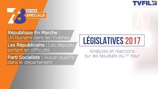 Edition spéciale – premier tour des élections législatives dans les Yvelines