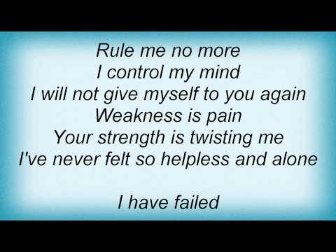 Crowbar - I Have Failed Lyrics