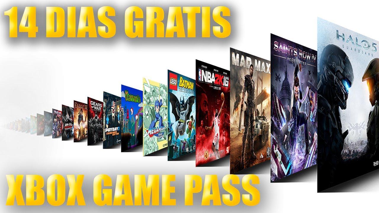 14 Dias Para Descargar Juegos Gratis Xbox One Xbox Game Pass Youtube