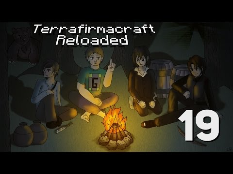 Terrafirmacraft Reloaded with Mindcrack 019 - Wading out the night