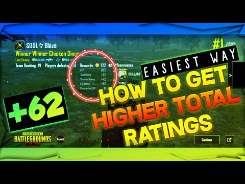 •HOW TO GET HIGHER TOTAL RATINGS IN CLASSIC MATCH• [plus+ More & Easier Than Before]